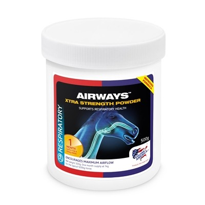 AIRWAYS XTRA STRENGTH POWDER  EQUINE AMERICA  500 GRS