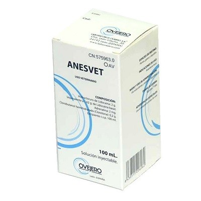 ANESVET 100 ML (XILOCAINA)