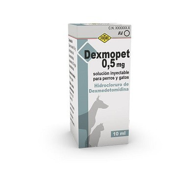 DEXMOPET 0.5 MG ML 10 ML SOL. INY.