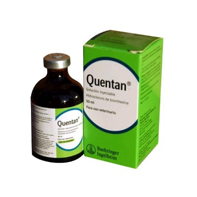 QUENTAN SOL. INYECTABLE 50 ML.